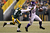 Tight end Kyle Rudolph #82 of the Minnesota Vikings runs after a catch against cornerback Sam Shields #37 of the Green Bay Packers in the first half during the NFC Wild Card Playoff game at Lambeau Field on January 5, 2013 in Green Bay, Wisconsin.  (Photo by Andy Lyons/Getty Images)
