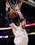 Los Angeles Lakers' Pau Gasol of Spain dunks the ball with 12 seconds left in the game against the New York Knicks, during the second half of their NBA basketball game in Los Angeles December 25, 2012. REUTERS/Danny Moloshok