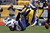 Danario Alexander #84 of the San Diego Chargers can't make a catch in the first half against the Pittsburgh Steelers during the game on December 9, 2012 at Heinz Field in Pittsburgh, Pennsylvania.  (Photo by Justin K. Aller/Getty Images)