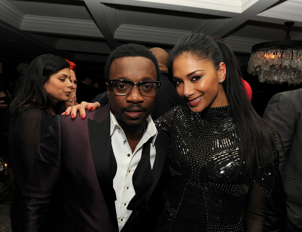 Description of . Anthony Hamilton and Nicole Scherzinger attend the Maroon 5 Grammy After Party & Adam Levine Fragrance Launch Event on February 10, 2013 in West Hollywood, California.  (Photo by Kevin Winter/Getty Images for PRESS HERE)