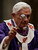 Pope Benedict XVI blesses the ashes as he celebrates the Ash Wednesday mass in St. Peter's Basilica at the Vatican, Wednesday, Feb. 13, 2013.  Ash Wednesday marks the beginning of Lent, a solemn period of 40 days of prayer and self-denial leading up to Easter. Pope Benedict XVI told thousands of faithful Wednesday that he was resigning for