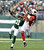 Arizona Cardinals wide receiver Larry Fitzgerald (11) makes a catch under coverage by New York Jets cornerback Antonio Cromartie (31) during the first quarter of an NFL game at MetLife Stadium in East Rutherford, N.J., Dec. 2, 2012. (Ben Solomon/The New York Times)