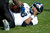 Driphus Jackson #6 of the Rice Owls lays on the ground after being sacked by the Air Force Falcons on December 29, 2012 during the Bell Helicopter Armed Forces Bowl at Amon G. Carter Stadium in Fort Worth, Texas.  (Photo by Cooper Neill/Getty Images)