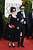 Actress Helena Bonham Carter(L) and director Tim Burton arrive at the 70th Annual Golden Globe Awards held at The Beverly Hilton Hotel on January 13, 2013 in Beverly Hills, California.  (Photo by Jason Merritt/Getty Images)