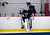 Colorado Avalanche G J.S. Giguere hits the ice as the Avalanche return to the ice Sunday, January 13, 2013 at Family Sports Center to start the 2013 training camp.  John Leyba, The Denver Post
