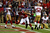 Tight end Tony Gonzalez #88 of the Atlanta Falcons catches a 10-yard touchdown in the second quarter against the San Francisco 49ers in the NFC Championship game at the Georgia Dome on January 20, 2013 in Atlanta, Georgia.  (Photo by Mike Ehrmann/Getty Images)