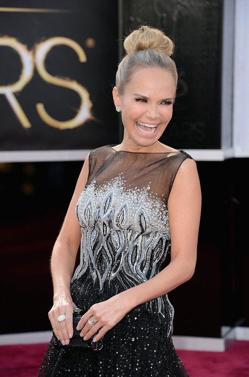 Description of . Actress Kristin Chenoweth attends the Oscars at Hollywood & Highland Center on February 24, 2013 in Hollywood, California.  (Photo by Jason Merritt/Getty Images)