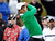 Charles Howell III of the U.S hits off the 7th tee against Tiger Woods of the U.S. during the weather delayed first round of the WGC-Accenture Match Play Championship golf tournament in Marana, Arizona February 21, 2013. REUTERS/Ralph Freso