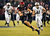Gavin Escobar #88 of the San Diego State Aztecs runs with the ball in the first half of the game against the BYU Cougars in the Poinsettia Bowl at Qualcomm Stadium on December 20, 2012 in San Diego, California. (Photo by Kent C. Horner/Getty Images)