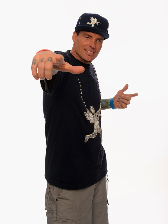 Description of . Vanilla Ice poses for a portrait in the TV Guide Portrait Studio at the 3rd Annual Streamy Awards at Hollywood Palladium on February 17, 2013 in Hollywood, California.  (Photo by Mark Davis/Getty Images for TV Guide)