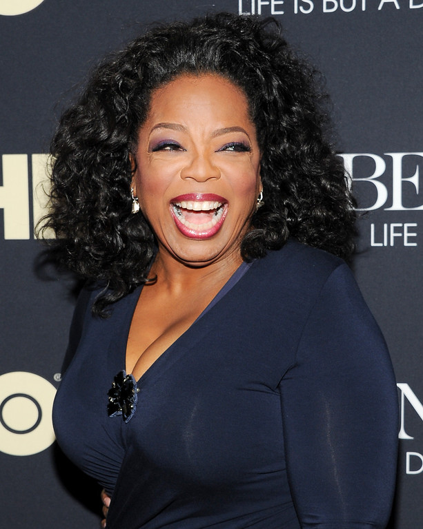 Description of . Oprah Winfrey attends the premiere of