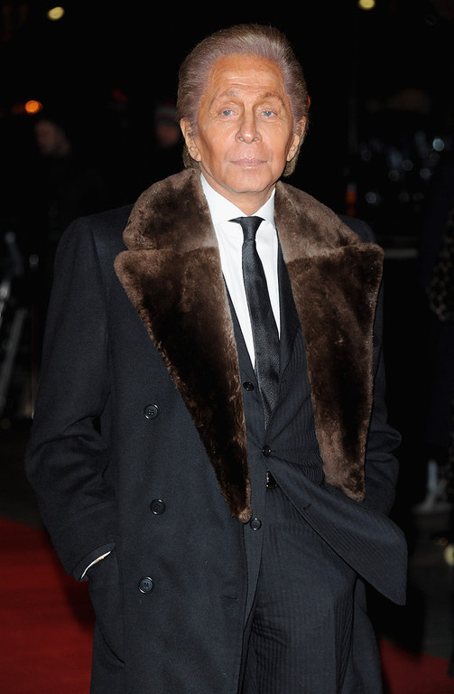 Description of . Fashion designer Valentino attends the