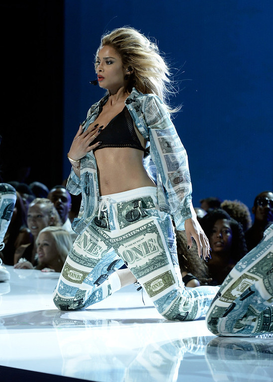 Description of . Singer Ciara performs onstage during the 2013 BET Awards at Nokia Theatre L.A. Live on June 30, 2013 in Los Angeles, California.  (Photo by Kevin Winter/Getty Images for BET)