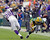 Green Bay Packers inside linebacker Brad Jones (59) breaks up a pass intended for Minnesota Vikings' Adrian Peterson (28) during the second half of an NFL football game Sunday, Dec. 2, 2012, in Green Bay, Wis. The Packers won 23-14. (AP Photo/Morry Gash)