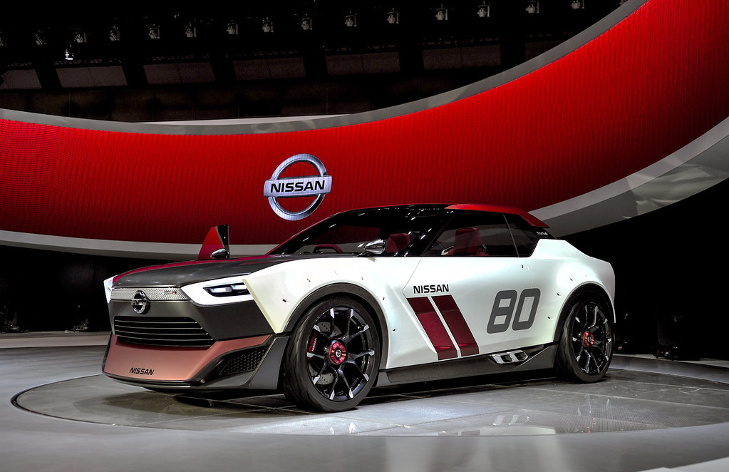 Description of . Nissan Motor Co. IDx Nismo is on display during the 43rd Tokyo Motor Show 2013 at Tokyo Big Sight on November 20, 2013 in Tokyo, Japan.   (Photo by Keith Tsuji/Getty Images)