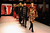 Models walk the runway during Jean Paul Gaultier Fall/Winter 2013 Ready-to-Wear show as part of Paris Fashion Week on March 2, 2013 in Paris, France.  (Photo by Pascal Le Segretain/Getty Images)