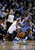 OAKLAND, CA - NOVEMBER 29: Harrison Barnes #40 of the Golden State Warriors tries to dribble around Jordan Hamilton #1 of the Denver Nuggets at Oracle Arena on November 29, 2012 in Oakland, California.  (Photo by Ezra Shaw/Getty Images)