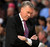 Head coach Mike D'Antoni of the Los Angeles Lakers reacts as he leads his team against the Denver Nuggets at the Pepsi Center on February 25, 2013 in Denver, Colorado. The Nuggets defeated the Lakers 119-108. NOTE TO USER: User expressly acknowledges and agrees that, by downloading and or using this photograph, User is consenting to the terms and conditions of the Getty Images License Agreement.  (Photo by Doug Pensinger/Getty Images)