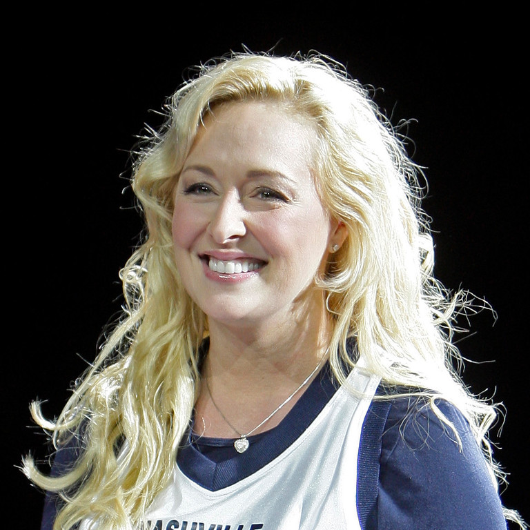 Description of . In this Nov. 14, 2008 file photo, Country singer Mindy McCready performs, in Nashville, Tenn. McCready, who hit the top of the country charts before personal problems sidetracked her career, died Sunday, Feb. 17, 2013. She was 37. (AP Photo/Mark Humphrey, File)