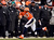 Denver Broncos wide receiver Eric Decker (87) pulls in a pass from Denver Broncos quarterback Peyton Manning (18) during the first half.  The Denver Broncos vs Baltimore Ravens AFC Divisional playoff game at Sports Authority Field Saturday January 12, 2013. (Photo by John Leyba,/The Denver Post)