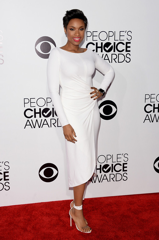 Description of . LOS ANGELES, CA - JANUARY 08:  Actress/singer Jennifer Hudson attends The 40th Annual People's Choice Awards at Nokia Theatre L.A. Live on January 8, 2014 in Los Angeles, California.  (Photo by Jason Merritt/Getty Images)