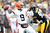 Thaddeus Lewis #9 of the Cleveland Browns throws a pass during the game against the Pittsburgh Steelers at Heinz Field on December 30, 2012 in Pittsburgh, Pennsylvania.  (Photo by Karl Walter/Getty Images)