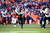 Baltimore Ravens cornerback Corey Graham (24) returns an interception for a 39-yard touchdown in the first quarter. The Denver Broncos vs Baltimore Ravens AFC Divisional playoff game at Sports Authority Field Saturday January 12, 2013. (Photo by AAron  Ontiveroz,/The Denver Post)