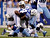 Indianapolis Colts' Delone Carter (34) fumbles as he is tackled by Tennessee Titans' Zach Brown (55) and Tim Shaw (59) during the first half of an NFL football game, Sunday, Dec. 9, 2012, in Indianapolis. The Colts recovered the fumble. (AP Photo/Michael Conroy)