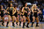 DENVER, CO. - JANUARY 28: Denver Nuggets dance team performs during a time out January 28, 2013 at Pepsi Center. The Denver Nuggets host  the Indiana Pacers in NBA Action. (Photo By John Leyba / The Denver Post)