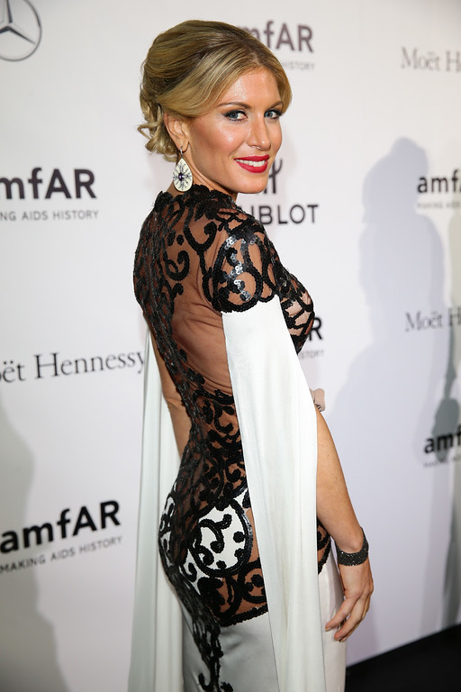 Description of . Hofit Golan attends the amfAR Milano 2013 Gala as part of Milan Fashion Week Womenswear Spring/Summer 2014 at La Permanente on September 21, 2013 in Milan, Italy.  (Photo by Vittorio Zunino Celotto/Getty Images for amfAR)
