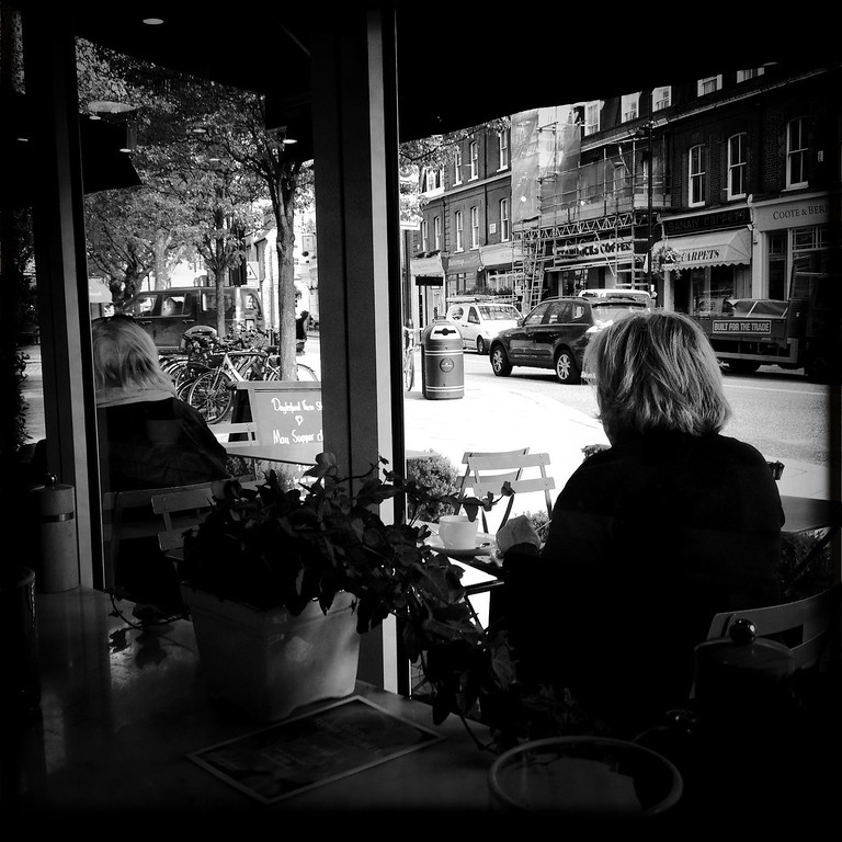 Description of . A woman sits in a cafe on April 30, 2012 in London, England.  (Photo by Vittorio Zunino Celotto/Getty Images)
