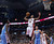 Toronto Raptors' DeMar DeRozan goes up for a dunk against the Denver Nuggets during the first half of an NBA basketball game in Toronto on Tuesday, Feb. 12, 2013. (AP Photo/The Canadian Press, Chris Young)