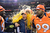 Denver Broncos head coach John Fox gets doused at the end of the game as the Denver Broncos took on the Kansas City Chiefs at Sports Authority Field at Mile High in Denver, Colorado on December 30, 2012. John Leyba, The Denver Post