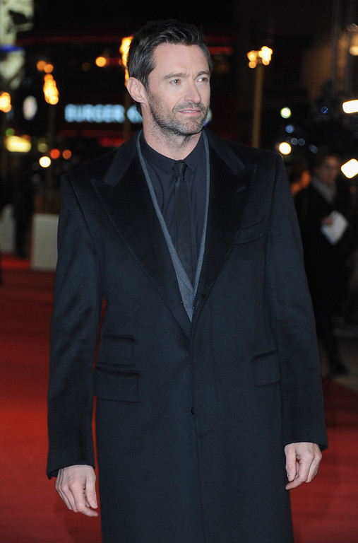 Description of . Actor Hugh Jackman attends the