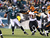 Nick Foles #9 of the Philadelphia Eagles is pressured by  Geno Atkins #97 of the Cincinnati Bengals during their game at Lincoln Financial Field on December 13, 2012 in Philadelphia, Pennsylvania.  (Photo by Al Bello/Getty Images)
