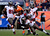 Denver Broncos wide receiver Demaryius Thomas #88 about to get pounded for Tampa Bay Buccaneers defenders during the second quarter. The Denver Broncos vs The Tampa Bay Buccaneers at Sports Authority Field Sunday December 2, 2012. Joe Amon, The Denver Post