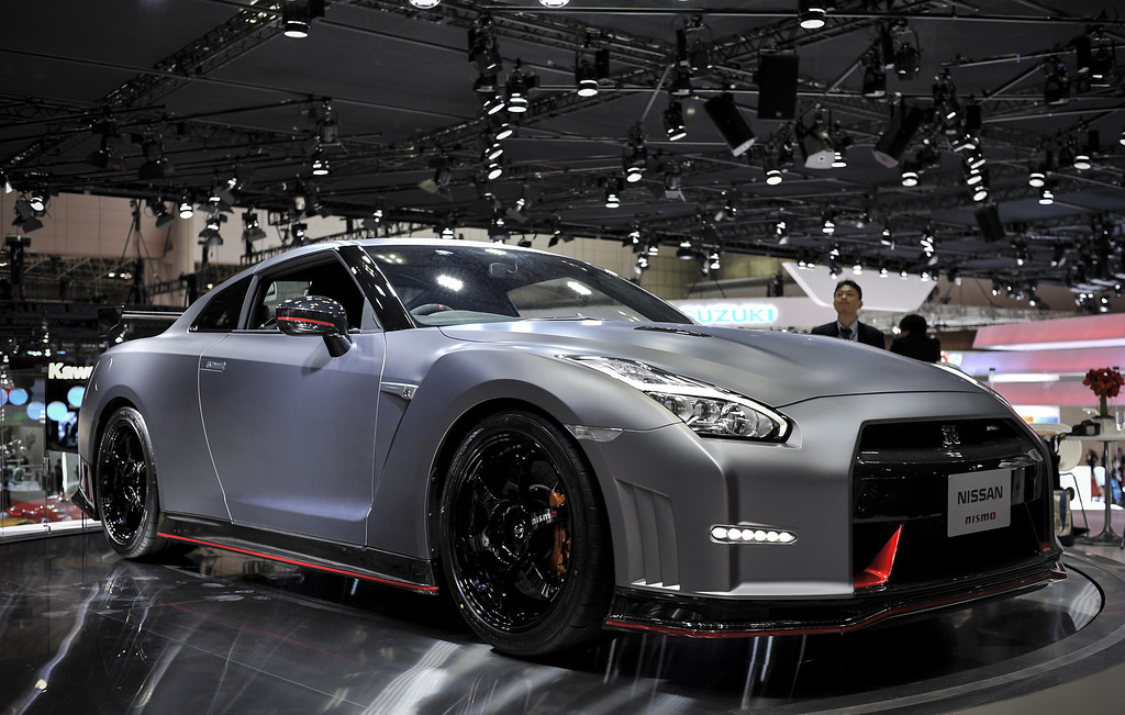 Description of . Nissan GT-R Nismo is on display during the 43rd Tokyo Motor Show 2013 at Tokyo Big Sight on November 20, 2013 in Tokyo, Japan. The 43rd Tokyo Motor Show 2013 will be open to public from November 22nd to December 1st, 2013.  (Photo by Keith Tsuji/Getty Images)