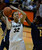 Colorado Buffaloes forward Arielle Roberson (32) takes a shot on California Golden Bears guard Afure Jemerigbe (2) during the second half Sunday, January 6, 2013 at Coors Events Center. John Leyba, The Denver Post