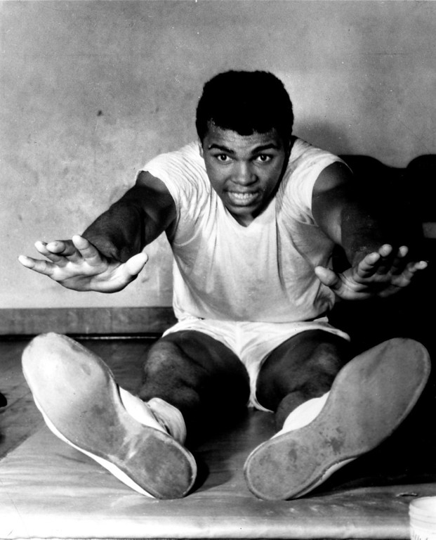 Description of . Muhammad Ali, 1966. Denver Post Library photo archive