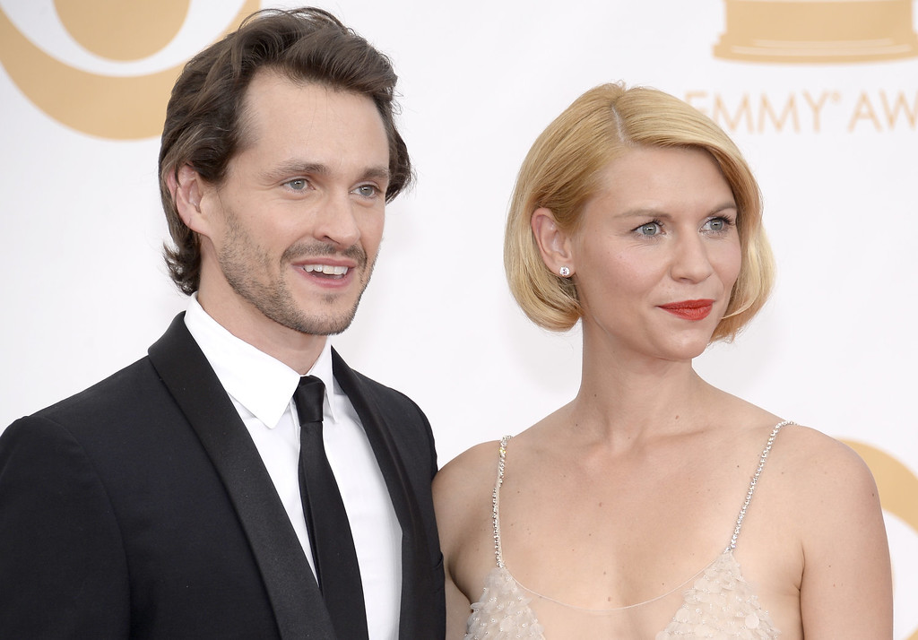 Description of . Actors Hugh Dancy and Claire Danes arrives at the 65th Annual Primetime Emmy Awards held at Nokia Theatre L.A. Live on September 22, 2013 in Los Angeles, California.  (Photo by Kevork Djansezian/Getty Images)