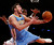 Denver Nuggets' Danilo Gallinari is fouled as he shoots against New York Knicks' J.R. Smith during an NBA basketball game, Sunday, Dec. 9, 2012, in New York. New York beat Denver, 112-106. (AP Photo/Jason DeCrow)