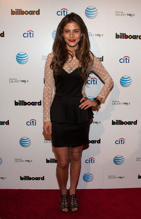 Description of . Weronica Rosati attends The Billboard GRAMMY After Party at The London Hotel on February 10, 2013 in West Hollywood, California. (Photo by Valerie Macon/Getty Images)