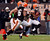 CLEVELAND, OH - DECEMBER 09:  Wide receiver Travis Benjamin #80 of the Cleveland Browns scores a touchdown as he runs with wide receiver Joshua Cribbs #16 against the Kansas City Chiefs at Cleveland Browns Stadium on December 9, 2012 in Cleveland, Ohio.  (Photo by Matt Sullivan/Getty Images)