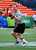 Peyton Manning #18 of the Denver Broncos warms up before the 2013 Pro Bowl against the National Football Conference team at Aloha Stadium on January 27, 2013 in Honolulu, Hawaii  (Photo by Scott Cunningham/Getty Images)