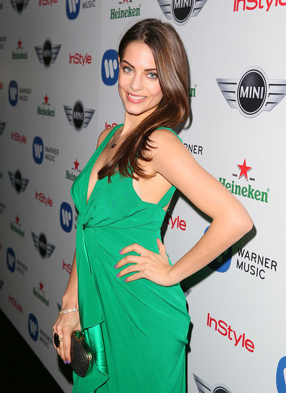 Description of . Actress Julia Voth arrives at the Warner Music Group 2013 Grammy Celebration Presented by Mini at the Chateau Marmont on February 10, 2013 in Los Angeles, California.  (Photo by Joe Scarnici/Getty Images for Warner Music Group)