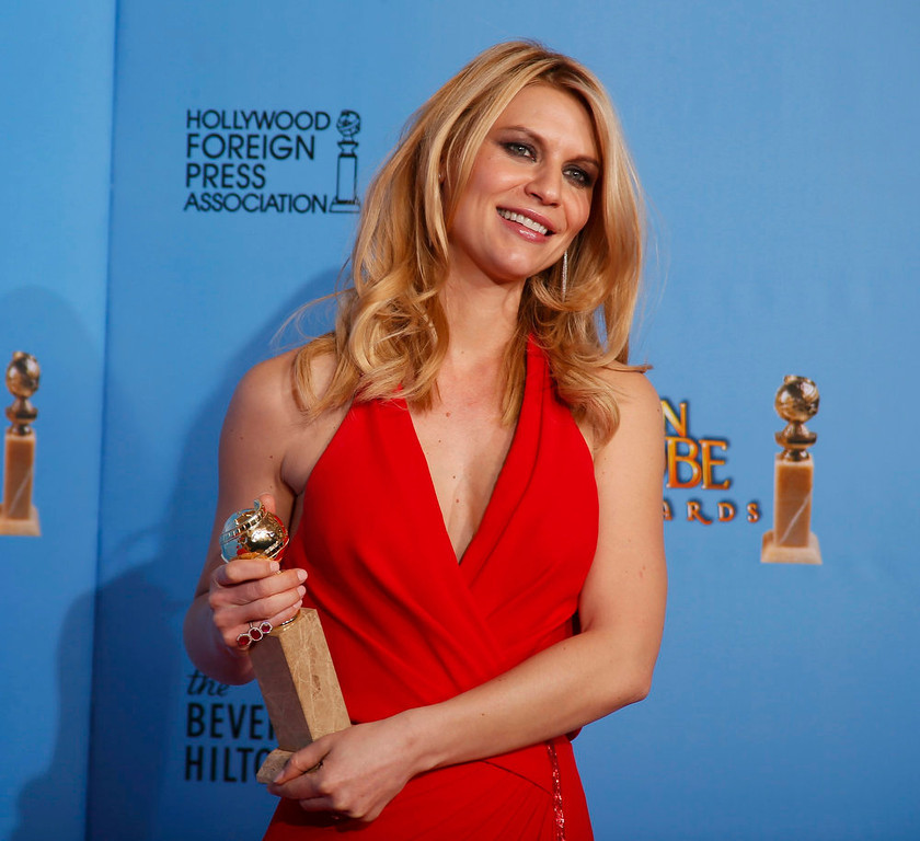Description of . Best Actress in a Television Series - Drama: Claire Danes, Homeland