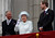 In this June 5, 2012 file photo, Britain's Prince Charles, Britain's Queen Elizabeth II and Prince William stand on the balcony at Buckingham Palace during the Diamond Jubilee celebrations in central London. (AP Photo/Stefan Wermuth, Pool, File)