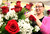 Thode's Floral and Gift Shop floral designer Jessica Granger works on a Valentine's Day arrangement Thursday Feb. 14, 2013 in LaPorte, Ind.  (AP Photo/The LaPorte Herald-Argus,Bob Wellinski )
