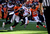 Denver Broncos cornerback Champ Bailey #24 takes down Tampa Bay Buccaneers wide receiver Mike Williams #19 during the first quarter.  The Denver Broncos vs The Tampa Bay Buccaneers at Sports Authority Field Sunday December 2, 2012. Tim Rasmussen, The Denver Post