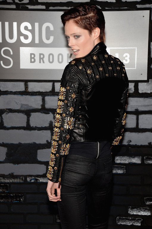 Description of . TV personality Coco Rocha attends the 2013 MTV Video Music Awards at the Barclays Center on August 25, 2013 in the Brooklyn borough of New York City.  (Photo by Jamie McCarthy/Getty Images for MTV)